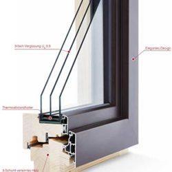 Fenster Holz/Alu