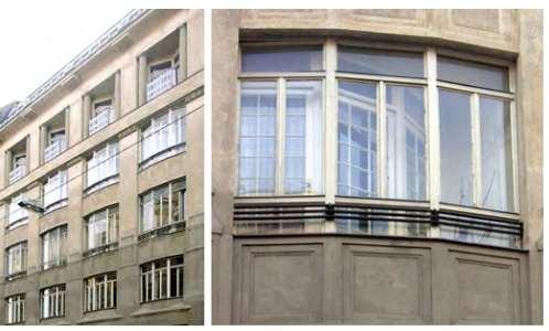 Kastenfenster der Protomoderne