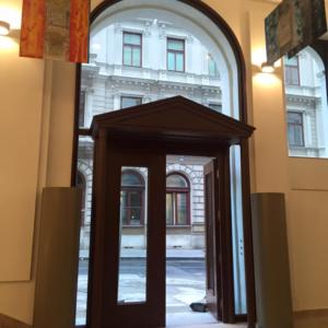 Eingangsportal - Nibelungeng. 1010 Wien