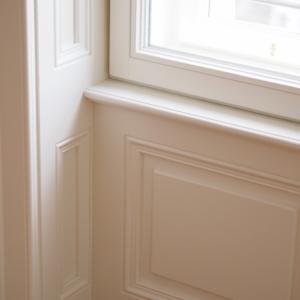 Innenansicht Innenverkleidung mit Kastenfenster - Nibelungeng. 1010 Wien
