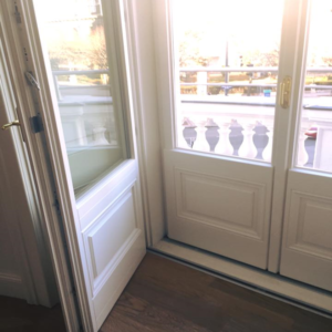 Innenansicht Kastenfenster Balkontüre - Nibelungeng. 1010 Wien