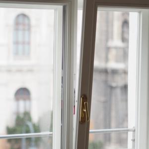 Innenansicht Kastenfenster - Nibelungeng. 1010 Wien