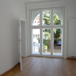 Innenansicht Rundbogen Kastenfenster - Eroicag. 1190 Wien